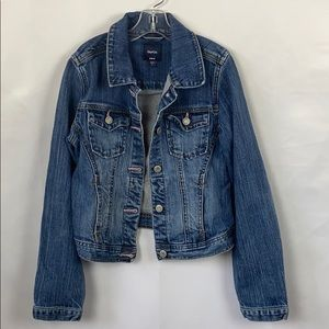 GAP KIDS GIRLS DENIM JACKET